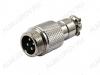Разъем (638) MIC12-4pin штекер на кабель