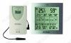 Метеостанция Atomic W739233 Измерение: наружной и внутр. температуры и влажности, календарь, часы, прогноз погоды на 24ч; питание 3хR6 радиодатчика 2хR3