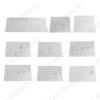 Комплект трафаретов BGA для iPhone 6S/6S Plus