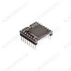 Радиоконструктор Аудиоплеер MP3 для microSD карт MP112SD (встраиваемый) Модуль воспроизводит файл формата MP3 с microSD карт с FAT16 и FAT32. Оснащен 3 Вт усилителем.