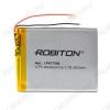 Аккумулятор 3,7V LP417596-PCB-LD 3500mAh Li-Pol; 75*96*4.1мм                                                                                                               (цена за 1 аккумулят