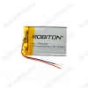 Аккумулятор 3,7V LP603450-PCB-LD 1100mAh Li-Pol; 34*50*6мм                                                                                                               (цена за 1 аккумулятор
