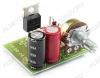 Радиоконструктор Регулятор ШИМ 12...30В (10А)  RP124.1 12...30В (10A). Для регулирования скорости вращения коллекторных электродвигателей постоянного тока, светодиодных лент 12-24В; Частота ШИМ: ~20 кГц.
