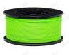 ABS пластик для 3D принтера 1.75мм. Зеленый (6056) 1кг.; Материал: Акрилонитрилбутадиенстирол; Плотность: 1,05 г/см; Темп. экструзии: 230 - 240 °С; Тепл. изделия: 105 °C; Производитель:  (ФДпласт)