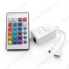 Контроллер для RGB модулей/лент IR-RGB-24-6A, ИК-пульт 12/24V; 6 (2A на канал); размеры 61*35*22мм;