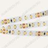 Лента светодиодная (3528*2) желтый SMD3528-600Y-12 ЭКОНОМ (цена за 1м)  12V, 0.8A/м, 120 LED/м, ширина 8мм, IP23