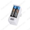 Зарядное устройство SmartUSB для 1-2шт NiMh R03/AAA или R6/AA; Vзар.=1.4V 500/1000mA, разъем - USB(5V;1A)