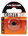 Элемент питания CR1216 3V;литиевые; блистер 1/10                                                                                            (цена за 1 эл. питания)