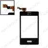 ТачСкрин для LG E400/O Optimus L3 черный