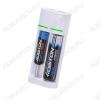 Зарядное устройство SMART 2 для 1-2шт Li-ion аккумуляторов 18650, 14500, 18500, 16340, 123A (4.2V 500mA), питание через USB-разъем