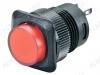 Кнопка RWD-315 (красная с фикс. с подсветкой 220V) 4pin/220V/3A