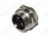 Разъем (4061) MIC16-2pin штекер на корпус