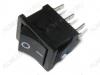 Сетевой выключатель RWB-209 ON-ON черный 19,5*13,2mm; 6A/250V; 6 pin