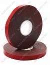 Скотч двухсторонний ACRYLIC 9мм*5м (09-6009) красный