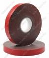 Скотч двухсторонний ACRYLIC 12мм*5м (09-6012) красный