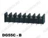 Клеммник барьерный DG55C-B-04P-13-00A(H) 300V; 20A: 4pin: Шаг 10мм; винтовой