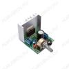 Радиоконструктор Усилитель 2х15Вт MP1202 (на TDA7297) Широкий диапазон питания от 6 до 18 вольт ,встроенный регулятор громкости