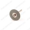 Диск алмазный двухсторонний FLE057 Диаметр диска - 25 мм.; Толщина диска - 0,3 мм.; Диаметр держателя - 1,7/2 мм.; Ширина покрытия - 7,5 мм.