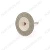 Диск алмазный двухсторонний FLE059 Диаметр диска - 35 мм.; Толщина диска - 0,3 мм.; Диаметр держателя - 2/3 мм.; Ширина покрытия - 10 мм.