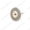 Диск алмазный двухсторонний FLE060 Диаметр диска - 40 мм.; Толщина диска - 0,3 мм.; Диаметр держателя - 2/3 мм.; Ширина покрытия - 10 мм.