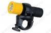 Фонарь велосипедный LED652 передний 9LED; унив.крепление на руль; питание 3xR03