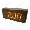 Часы электронные сетевые VST865-1 темно-коричневые