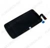 Дисплей HTC Desire 500 + тачскрин черный