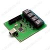 Радиоконструктор Управление нагрузкой и контроль через USB MP714 (Распродажа) Управление нагрузкой и контроль через USB