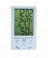 Термометр цифровой TA308 Температура: 0°С~50°С/Погрешность: +0.1°С/Влажность: 10% ~ 99%/+ часы