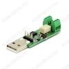 Радиоконструктор Управление нагрузкой через Internet MP751 (USB реле) USB реле для управления нагрузкой по интернету (работает под OC Linux)