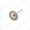 Диск алмазный двухсторонний FLE054 Диаметр диска - 19 мм.; Толщина диска - 0,3 мм.; Диаметр держателя - 1,7/2 мм.; Ширина покрытия - 4,5 мм.