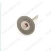 Диск алмазный двухсторонний FLE056 Диаметр диска - 22 мм.; Толщина диска - 0,3 мм.; Диаметр держателя - 1,7/2 мм.; Ширина покрытия - 6 мм.
