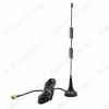 Антенна GSM автомобильная магнитная RP-200 8db SMA Стандарт GSM900/1800; 8dB; h=0.31м; с кабелем 3м + разъем SMA шт