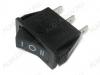 Сетевой выключатель RWB-416 черный с нейтралью 28,0*10,5mm; 15A/250V; 3 pin