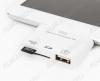 Адаптер iPhone 4 на HDMI и USB для передачи видео,фото (40-0104)