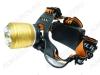 Фонарь налобный PT-FLG06(SL-33) светодиодный 1LED CREE T6; ZOOM питание 2xLi-ion18650(в комплекте демонстрационные), зарядка от сети 220В или от прикуривателя 12DCV
