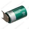 Элемент питания CR14250BL-VBR Li 3.0V, 850mA/h, обратная распайка 3-pin пластинчатых выводов                                                                         (цена за 1 эл. пит