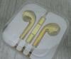 Гарнитура для iPhone 5 золотистая Copi