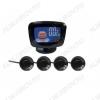 Парктроник PS-524 4 черных датчика, LCD-дисплей; 12V; фреза 21.5мм в комплекте
