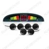 Парктроник PS-126 6 датчиков, цветной светодиодный дисплей с цифровым табло; 12V; фреза 21.5мм в комплекте