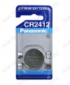 Элемент питания CR2412 3V;литиевые;блистер 1/10                                                                                            (цена за 1 эл. питания)