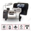Автокомпрессор KS-600 12V,23A; давление 10атм; шнур 3.0м; производительность 60л/мин; унив.штекер+дополнит.насадки; время непр. раб-15мин.