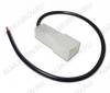 Колодка (A017) штыревая КСШ1х1,5 с проводом размеры: 31,7х12,4х9,5мм