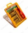 Набор отверток BK-3032 + пинцет 32 различные насадки; прорезиненная ручка.