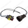 Комплект герметичных разъемов РГ2х1 с проводами