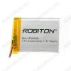 Аккумулятор 3.7V LP304560-PCB-LD 700mAh Li-Pol; 45*60*3.0мм                                                                                                               (цена за 1 аккумулят