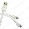 Шнур USB A шт/MICRO USB B 5pin шт + MINI USB B 5pin шт 0.3м (BS-3066)