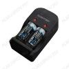 Зарядное уcтройство SmartRCR123 для заряда Li-ion аккумуляторов 16340 (RCR123A) с напряжением 3,0В. Питание от сети 220V и от 12VDC