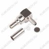 Разъем (460) CRC9-C174P Штекер на кабель RG-174 под обжим