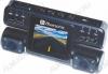 Видеорегистратор автомобильный Bluesonic BS-B101 Full HD с 2-мя камерами microSD - карта 1-32Gb; Li-ion аккумулятор; дисплей 2